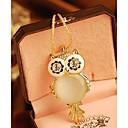 Naisten Korean Owl kaulakoru
