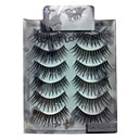 6 pairscoolflower false eyelashes 023#