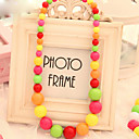 Fashion Multicolor Bead Cute Kid's Strands Ketting (1 Pc)
