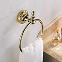 Antikk Ti-PVD Finish Brass Material håndkle ringer
