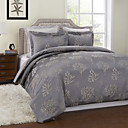 3 Piece - Country Artistic Trees Pattern (180 Thread Count) Duvet Cover Set