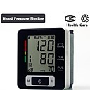cuore del monitor superiore automatico da polso digitale di pressione sanguigna sfiora schermo lcd metro