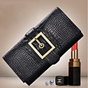 Women's Genuine Leather Crocodile Fashion Messenger Bags Clutch