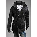 Men's Hoodie Slim Drawstring Waist Jacket