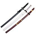 One Piece Roronoa Zoro Sandai Santoryu Wado Ichimonji/Shuusui/Yubashiri Anime Cosplay-sværd (3 sværd/sæt)