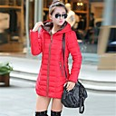 Women's Blue/Red/Green/Yellow Coat , Casual Long Sleeve Others