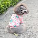 huisdier mode zoete kleine bloemen warme jas voor huisdieren honden (diverse kleuren, maten)