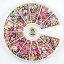 1900pcs faux ongle bijoux acrylique art strass fleur de fleur de paillettes pour la décoration d'art d'ongle&conception