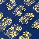 108 vel voor vel gouden 3d bloem nail art stickers decals decoraties hot stamping