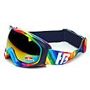 HB Rainbow Stripes Frame Protection Polarized Snow Goggles