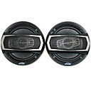 6 Inch 400W Car Speakers with Mounting Accessories, Black (Pair)