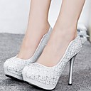 Women's Shoes Round Toe Stiletto Heel Pumps with Rhinestone Shoes More Colors available