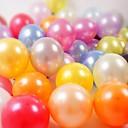 10 polegadas de espessura rodada balões de látex balões de pérolas (100pcs)