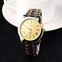 herenhorloge analoge staal quartz jurk horloge