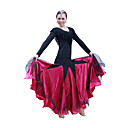 Ballroom Dancewear Women's Spandex Sequined Ballroom Dance Dress (More Colors)