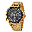 Men's Multifunctional Analog-Digital Full Steel Band Wrist Watch (Assorted Colors) Cool Watch Unique Watch