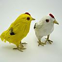 søde påske malet kylling, fjer