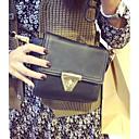 Women's Fashion Metal Button Mini Crossbody Bag