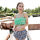 Ymeishan Women's Cute Girl Style Push-up Swim Dress Bikini Swimming Suit