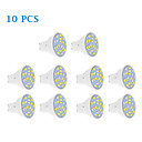 10 parça GU10 7 W 18 SMD 5630 570 LM Sıcak Beyaz / Serin Beyaz Spot Işıklar AC 220-240 V
