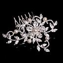 Licht Metaal Vrouwen/Bloemenmeisje Helm Bruiloft/Speciale gelegenheden/Casual Haarkammen Bruiloft/Speciale gelegenheden/Casual