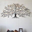 e-Home® metalen kunst aan de muur muur decor, boom patroon muur decor een stuks