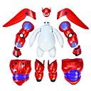 gran héroe 6 armadura-up figura de acción Baymax