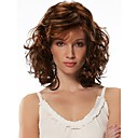 Women Synthetic Multi-color Wig Wavy Medium Synthetic Hair Wig