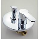 Shower Faucet Contemporary Brass Chrome