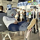 SIMUCANDLE® The Magical Ostrich Pillow Office The Nap Nillow Car Pillow Everywhere Nod Off to Sleep