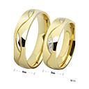 unisex clásico como anillos de diamantes par de imagen (como imagen)