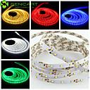 SENCART 5 M 300 3528 SMD Branco Quente/Branco/RGB/Vermelho/Amarelo/Azul/VerdeCortável/Regulável/Conetável/Adequado Para