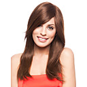 High Quality Capless Long  StraightMono Top Human Hair Wigs 7 Colors to Choose