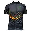 Mailliot Cyclisme - Respirable/Résistant aux ultraviolets/Séchage rapide/Zip frontal/mèche/Matériaux Légers/Pocket Retour  àManches