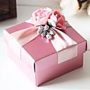 Boîtes à cadeaux ( Lavande/Or/Rose/Rouge , Papier durci ) Thème jardin/Thème floral/Thème papillon/Thème de conte de fées - pour