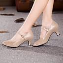 Non Customizable Women's Dance Shoes Modern Suede Cuban Heel More Colors