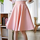 Women's Pink Skirts,Party / Cocktail Knee-length
