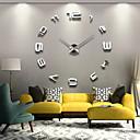 Large Metal Home Decor DIY Creative Personality Wall Clock 12S008