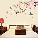 Peach Blossom et les oiseaux stickers muraux