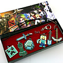 My World JJ Alloy More Accessories (7PCS Minecraft Pendant Necklace)