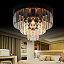 Max 60W Modern/Contemporary Crystal Metal Flush Mount Bedroom / Dining Room / Hallway