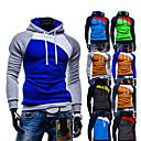 Men's Hoodie /  Sweats & Hoodies , Cotton / Rayon Long Sleeve Casual / Work Fashion Winter / Spring / Fall D.B.L