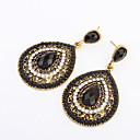 European Style Fashion Teardrop-shaped Vintage Drop Earrings