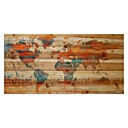 abstrakt mönster oljemålning orange färg väggdekorationer handmålning