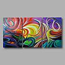 prêt à main tendue encadrées peinture à l'huile art mur de toile peinte à la main de couleurs vives abstraits modernes trois panneaux