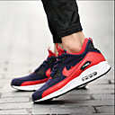 Men's Shoes Outdoor / Casual Tulle Fashion Sneakers Black / Red