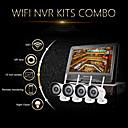 szsinocam®4ch 720p 1.0mp wifi NVR výstroje, s 10,1