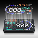Multifunctional A8 OBD II 5.5 Inch Car HUD Head Up Display Alarm Security System with OBD2 Interface