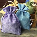 Geschenktaschen ( Dunkelgrün / Lila / Grün / Blau , Jute ) - Nicht personalisiert -Hochzeit / Jubliläum / Brautparty / Babyparty /