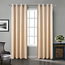 Two Panels Chadmade Solid Matt Finish Velvet Curtain Drape Beige / Blue / Grey / Purple / Khaki / Burgundy